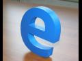 3D loga, nápisy – zviditelní jméno Vaší společnosti