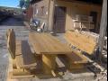 Zahradní nábytek - masiv dřevo