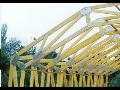 Dřevěné vazníky, výroba vazníků, příhradové vazníky.