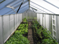 Fóliovníky a polykarbonátové skleníky Semily - pevné hliníkové konstrukce