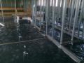 Strojní omítky, lité potěry cementové, anhydritové