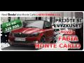 Zažijte jízdu s vozem Škoda FABIA MONTE CARLO