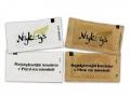 LEOPON s.r.o., balení cukru bílého a hnědého do sáčků typu trubička a poštářek