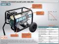 Elektrocentrály, motorové, kalové tlakové proudové čerpadla HERON