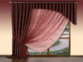 Prodej, praní, žehlení a šití záclon a závěsů na míru – velký výběr materiálů