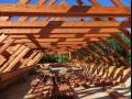 Tesařské práce – zhotovení nových krovů a dřevěných konstrukcí