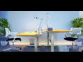 Výškově nastavitelné stoly ALNAK® - šetří Vaše záda
