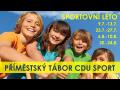 Letní příměstský sportovní tábor plný pohybu - Léto 2018 pro děti od 7 do 14 let