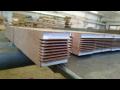 Výroba lepené dřevařské materiály, polotovary - spárovky, hoblované hranoly