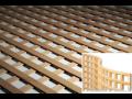 Drevené vetracie a ozdobné mriežky z masívneho dreva vysokej kvality, ...