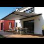 Praktický moderní doplněk pro Váš dům – markýzy výsuvné, výklopné, fasádní i volně stojící