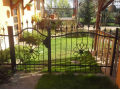 Designové kovové brány, branky, plotové díly - vypalované