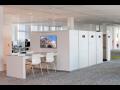 Designové regály pro archivaci a kanceláře s elektrickým ovládáním a řízením přístupů