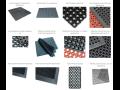 Čistící rohože - gumové, textilní, průmyslové, schodové, speciální, bazénové, dezinfekční