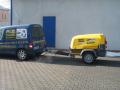 Prodej, servis a půjčovna spolehlivých pojízdných kompresorů Atlas Copco