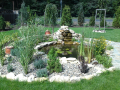 Realizace zahrad na klíč zavlažovací systém jezírka Hradec