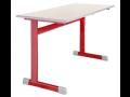 Školní lavice jednomístné i dvoumístné, pevné i výškově stavitelné ...