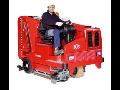Vysoce efektivní podlahové mycí stroje, automaty na různé typy podlah