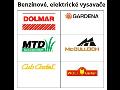 Zahradní vysavače listí elektrické, benzinové - prodej, servis ...