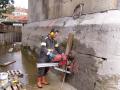 Řezání betonu sanace železobetonu jádrové vrtání Pardubice