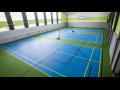 Moderní tělocvična a venkovní kurty – badminton, tenis, florbal, nohejbal, házená
