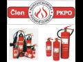 Plnění hasicích přístrojů, požární technika, požární hadice.