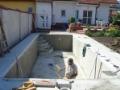 Hydroizolace staveb, zahradn�ch jez�rek, sanace objekt� Krom���