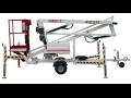 Pracovní plošiny, pronájem, prodej nových i použitých, servis