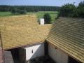Originální střecha z dřevěného štípaného šindele – montáž