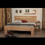 Nové modely dřevěných postelí z masivu s možností moření do vybraného odstínu zdarma