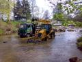 Oprava silnic �dr�ba vozovek emulzn� n�t�ry asfaltov� v�spravy