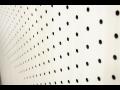 Perforované panely, desky HPL - odolné obklady stěn, interiérové a exteriérové obložení budov v mnoha barvách