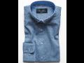 Výroba, eshop pánské košile LUIZ - designové, jednobarevné, flanelové, profesní