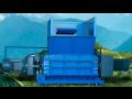 Technologické linky pro zpracování a třídění odpadu, drtiče