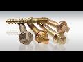 Spojovací materiál, pražcové a železniční šrouby, matice, výkovky