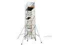 Lehké hliníkové mobilní věže BoSS a komponenty – stojky, podlážky, rámy – E-shop