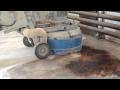 Lokální odstranění zaolejování – sanace olejových skvrn okolo strojů