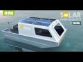Rybářská loď se solárním pohonem