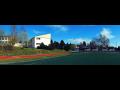 Základní škola Frymburk, hřiště, moderní výukové pomůcky přírodovědy