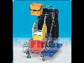 Profesionální úklidové vozíky jednokbelíkové, dvojkbelíkové - distributor