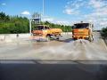 Čištění a kropení komunikací, dovoz vody do bazénů, na stavby
