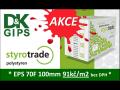Akce - pěnový polystyren Styrotrade, 91 Kč/m2, Praha a okolí
