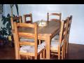 Výroba stoly a židle Rychnov nad Kněžnou - z masivního dřeva a na míru