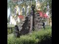 Obec Tuhaň, lidová architektura, historické památky, kostel, zvonice, soubor soch