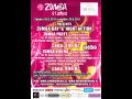 Zumba,maraton,víkend,postava,wellness,night party,tombola