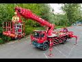 Pronájem pracovních plošin s řidičem Litoměřice – práce ve výškách do 42 metrů