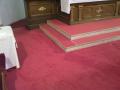 Prodej podlahov�ch krytin, bytov� textil Vset�n