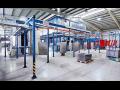 Kontinuální lakovací linky pro kvalitní povrchovou úpravu produktů
