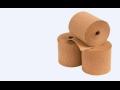 Krepovaný papír z recyklovaných surovin pro průmyslové balení výrobků