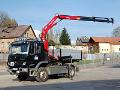 Přeprava materiálu, zemní práce, pracovní plošina Liberec.